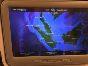 Nach knapp 11000 km eine softe Landung in Singapur